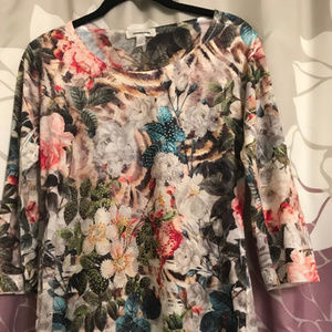 Dress Barn Floral Blouse